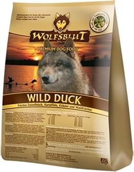 Wolfsblut   Wild Duck Adult   2 kg   Ente   Trockenfutter   Hundefutter   Getreidefrei - 1