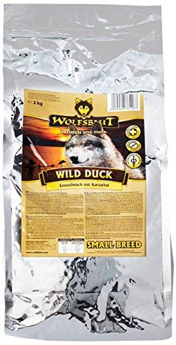 Wolfsblut   Wild Duck Small Breed   2 kg   Ente   Trockenfutter   Hundefutter   Getreidefrei - 1