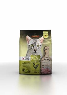 Leonardo Adult GF Poultry [300g] Katzenfutter | Getreidefreies Trockenfutter für Katzen | Alleinfuttermittel für Katzenrassen ab 1 Jahr - 1