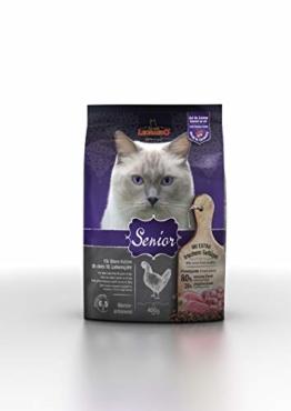 Leonardo Senior [400g] Katzenfutter | Trockenfutter für ältere Katzen | Alleinfuttermittel für ältere Katzen ab ca. 10 Jahren+ - 1